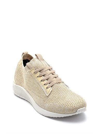 Derimod Kadın Ayakkabı (19032) Spor Altın